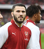 london england sead kolasinac arsenal during