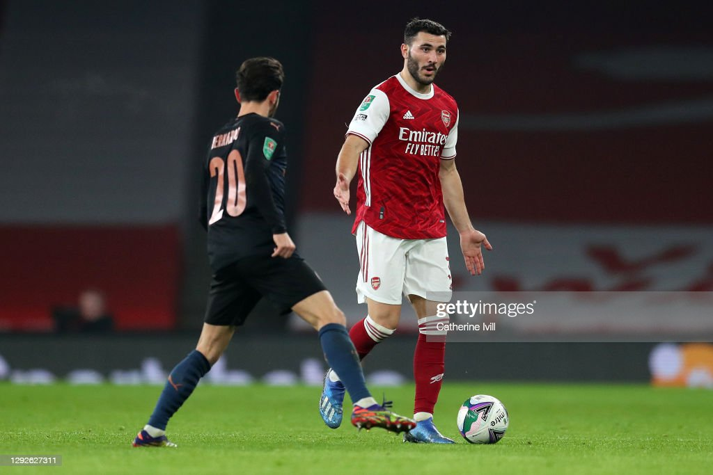 Arsenal v Manchester City - Carabao Cup Quarter Final : ニュース写真