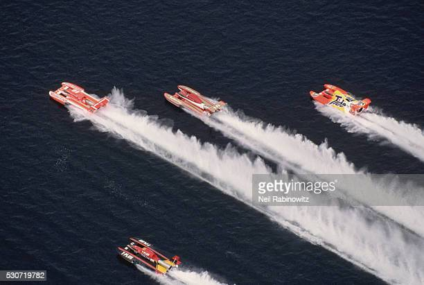 seafair hydroplane race - hydroplane racing stock pictures, royalty-free photos & images