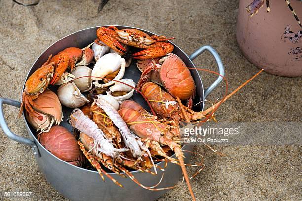Seafood at Nha Trang Khanh Hoa province Vietnam