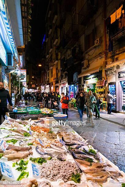 Frutti di mare a Napoli, Italia