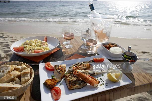 Seafood Lunch by the Sea