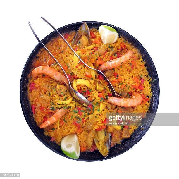 La Paella de fruits de mer