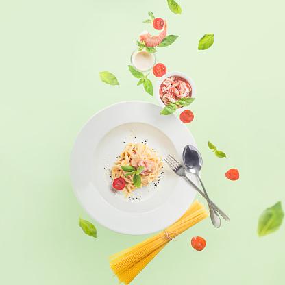 Seafood pasta - gettyimageskorea