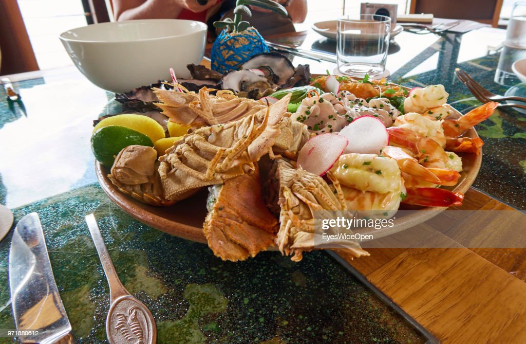 Seafood Platter With Oysters Crabs And Lobster At The Qualia At News Photo Getty Images