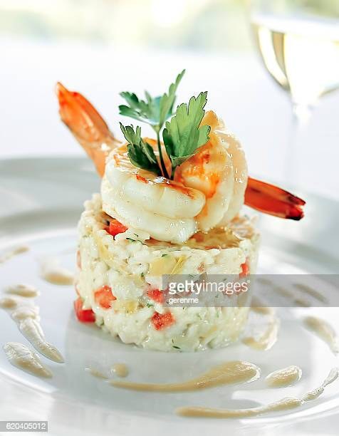 risotto de poissons et fruits de mer