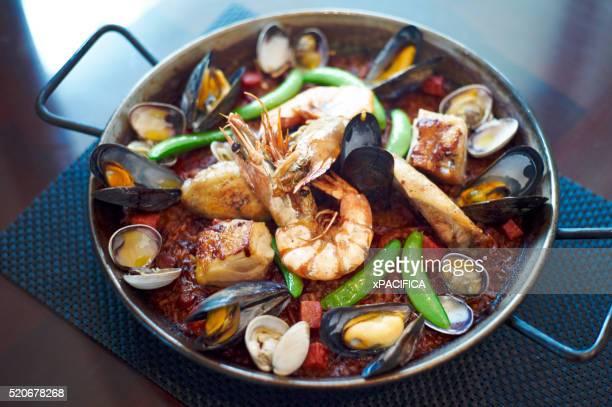 A seafood stew at the Venetian Hotel in Macau