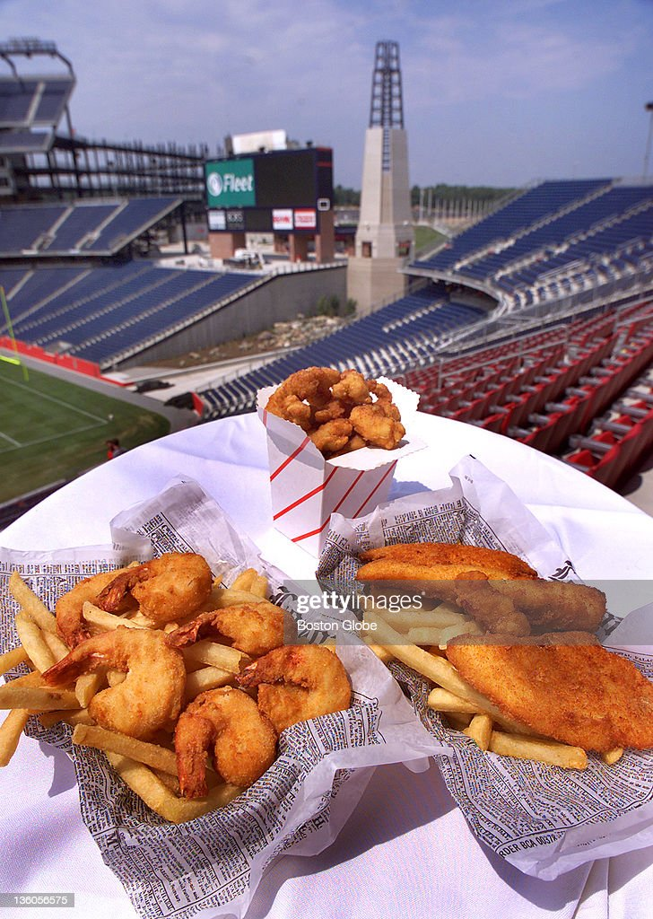 Seafood With A View Of The Lighthouse Food At New Patriot S Stadium Includes Fried
