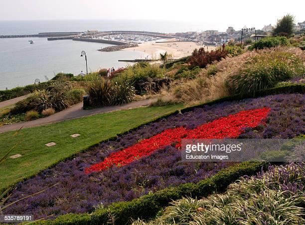 Seafront Gardens, Lyme Regis, Dorset, UK.