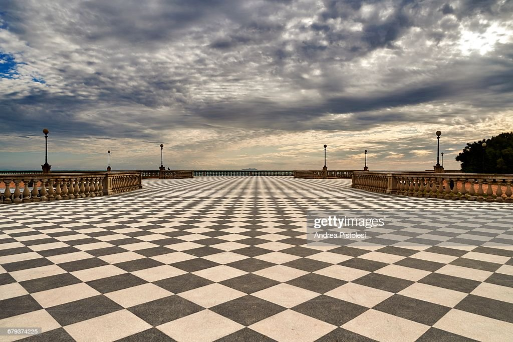 Seafront Terrazza Mascagni In Livorno Italy Stock Photo | Getty Images