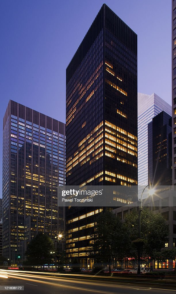 Seagram Building Designed By Mies Van Der Rohe New York City New