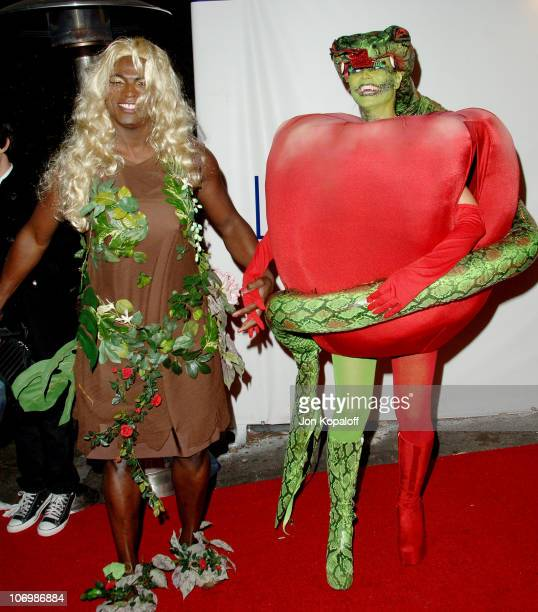 Seal and Heidi Klum during 7th Annual Heidi Klum Halloween Party Sponsored by MM's Dark Chocolate Arrivals at Privilege in Los Angeles California...
