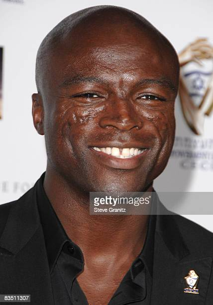 Seal arrives at the 60th Anniversary of Israel 'From Vision to Reality' at Paramount Studios on September 18 2008 in Hollywood California