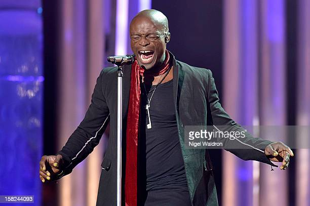Seal attend the Nobel Peace Prize Concert 2012 at Oslo Spektrum on December 11 2012 in Oslo Norway