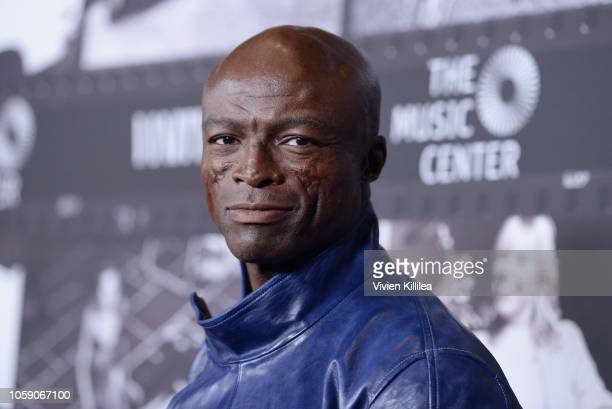 Seal attends Joni 75 A Birthday Celebration Live At The Dorothy Chandler Pavilion on November 7 2018 in Los Angeles California