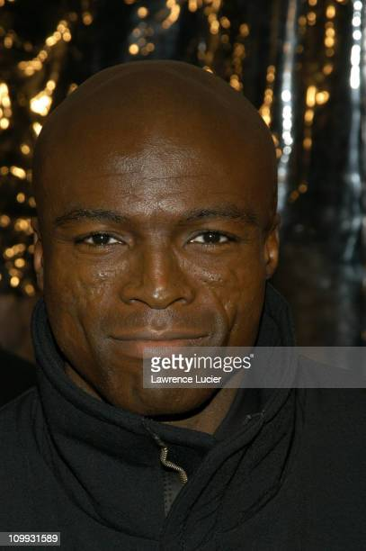Seal during Mona Lisa Smile New York Premiere at Ziegfeld Theater in New York City, New York, United States.