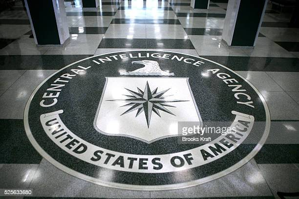 A seal inside the CIA headquarters in McLean Virginia File photo from 3/3/2005