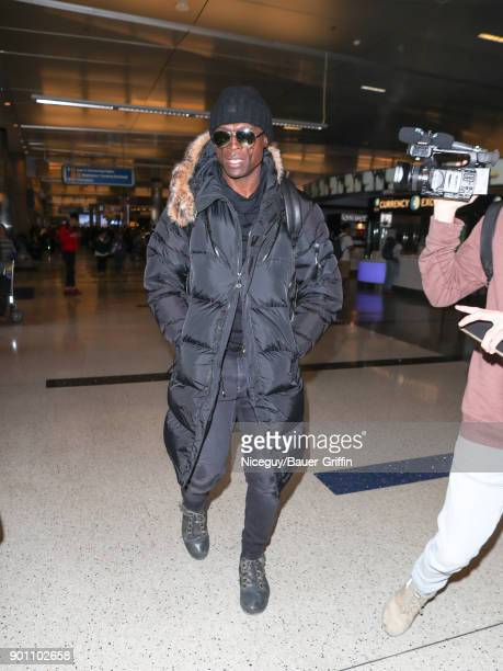 Seal is seen at Los Angeles International Airport on January 03 2018 in Los Angeles California