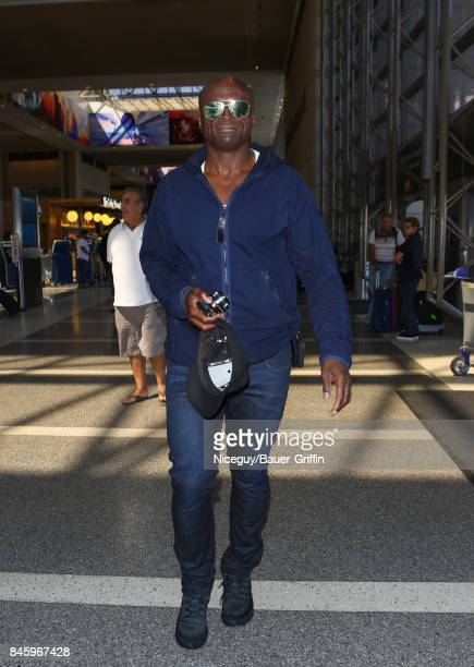 Seal is seen at Los Angeles International Airport on September 11 2017 in Los Angeles California