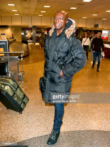 Seal is seen at Salt Lake City International Airport on January 22 2020 in Park City Utah