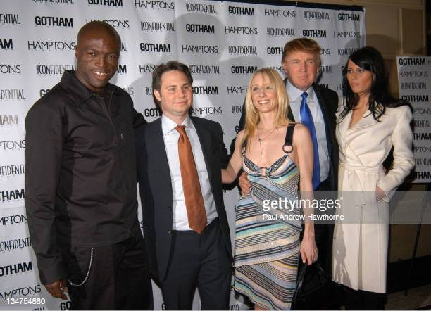 Seal Jason Binn Anne Heche Donald Trump and Melania Knauss