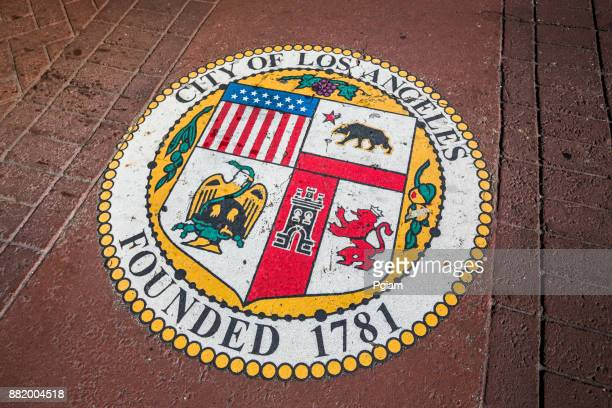 Seal of the City of Los Angeles California USA