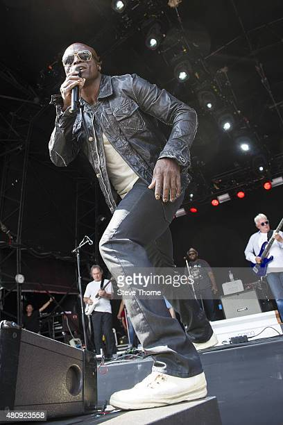 Seal of the Trevor Horn Band performs at the Cornbury Festival at Great Tew Estate on July 12 2015 in Oxford United Kingdom