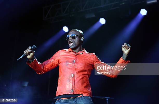 Seal performs at Cornbury Festival at Great Tew Estate on July 10 2016 in Oxford England