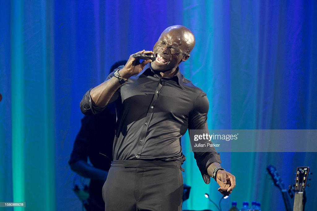 Seal Performs At The Clinton Global Initiative, At The Sheraton Hotel And Towers In New York, Usa. .