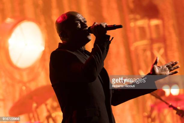 Seal performs at Usher Hall on February 10 2018 in Edinburgh Scotland