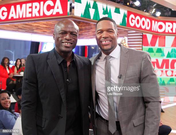 AMERICA Seal performs live on Good Morning America Tuesday December 5 airing on the Walt Disney Television via Getty Images Television Network SEAL...