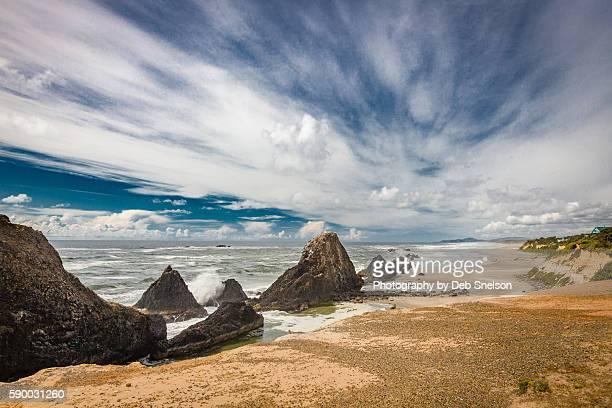 Seal Rocks Sea Stacks Oregon Coast State Park
