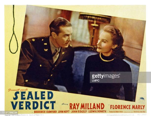 Ray Milland Florence Marly 1948