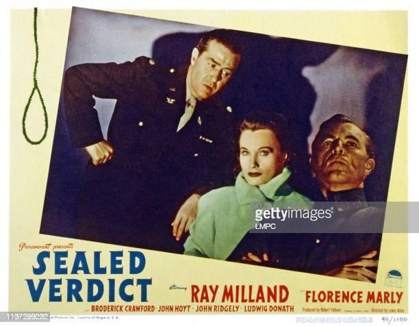 Ray Milland Florence Marly John Hoyt 1948
