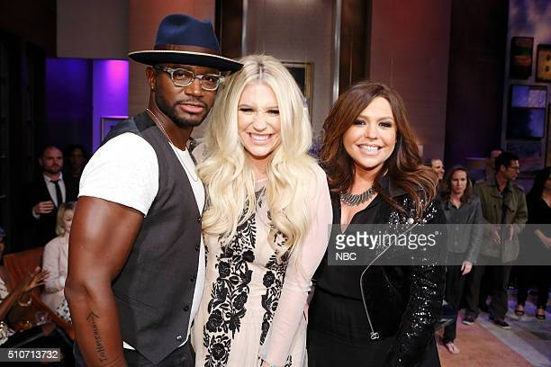NIGHT 'Sealed With a Kesha' Episode 411 Pictured Taye Diggs Kesha Rachael Ray