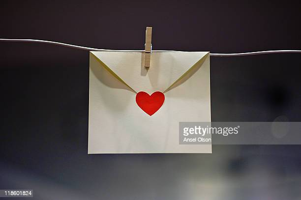 sealed with heart - airtight stock photos and pictures