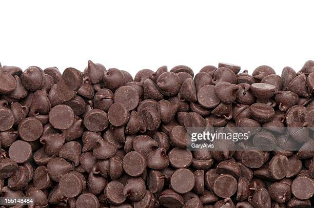 seamless chocolate chips - chocolate chip stock pictures, royalty-free photos & images