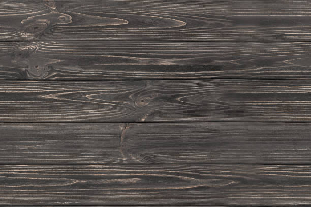 Clean Floor Seamless Dark Grey Wooden Background