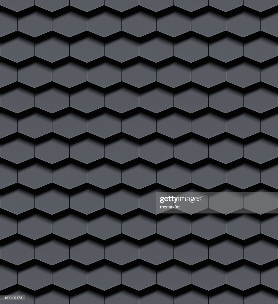 Seamless metallic 3d background : Stock Photo