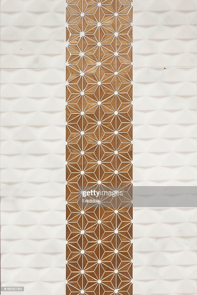 Seamless patterns wall : Foto de stock
