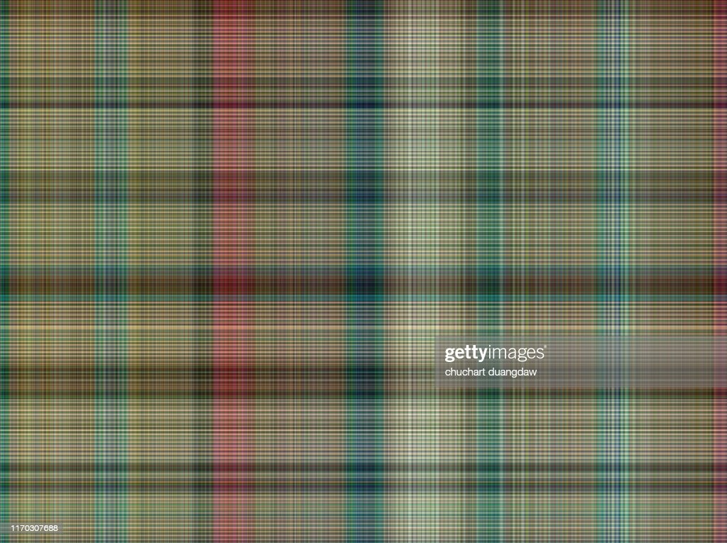 Seamless plaid fabric loincloth with stripe color abstract background pattern texture : Foto de stock