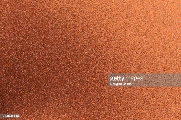 Seamless Sparkle pattern of bronze glitter and spangled densely