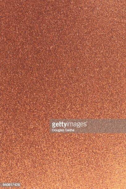 Seamless Sparkle pattern of copper colored Glitter