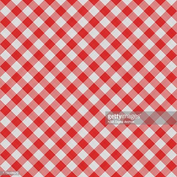 Quadrat Tischtuch nahtlose Hintergrund aus Baumwolle/Material Tapete Muster