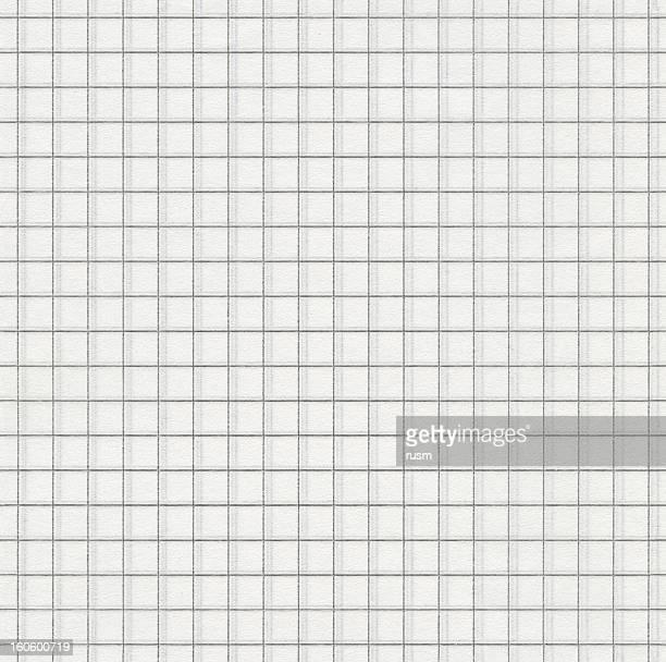 Nahtlose Eckige Weißbuch Hintergrund