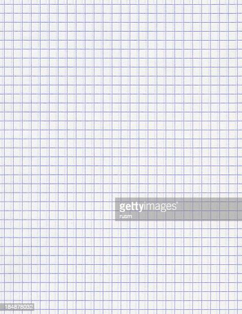 seamless squared white paper background - grid pattern stock pictures, royalty-free photos & images