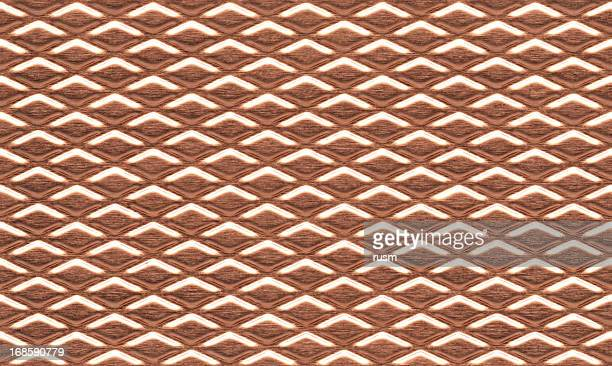 Seamless textured copper background