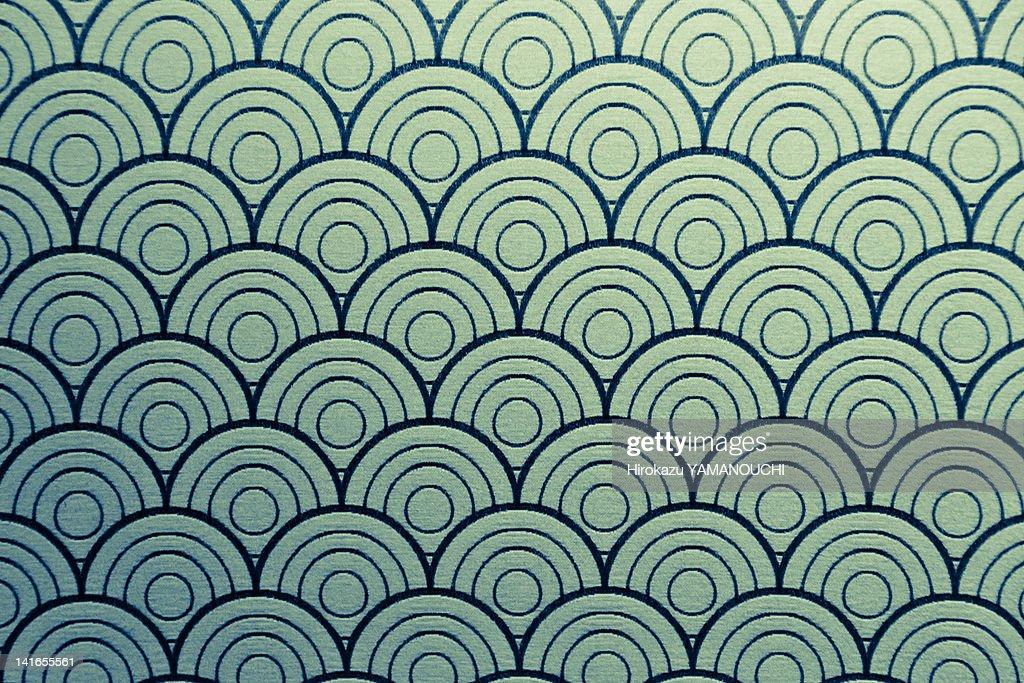 Seamless wave pattern : Stock Photo