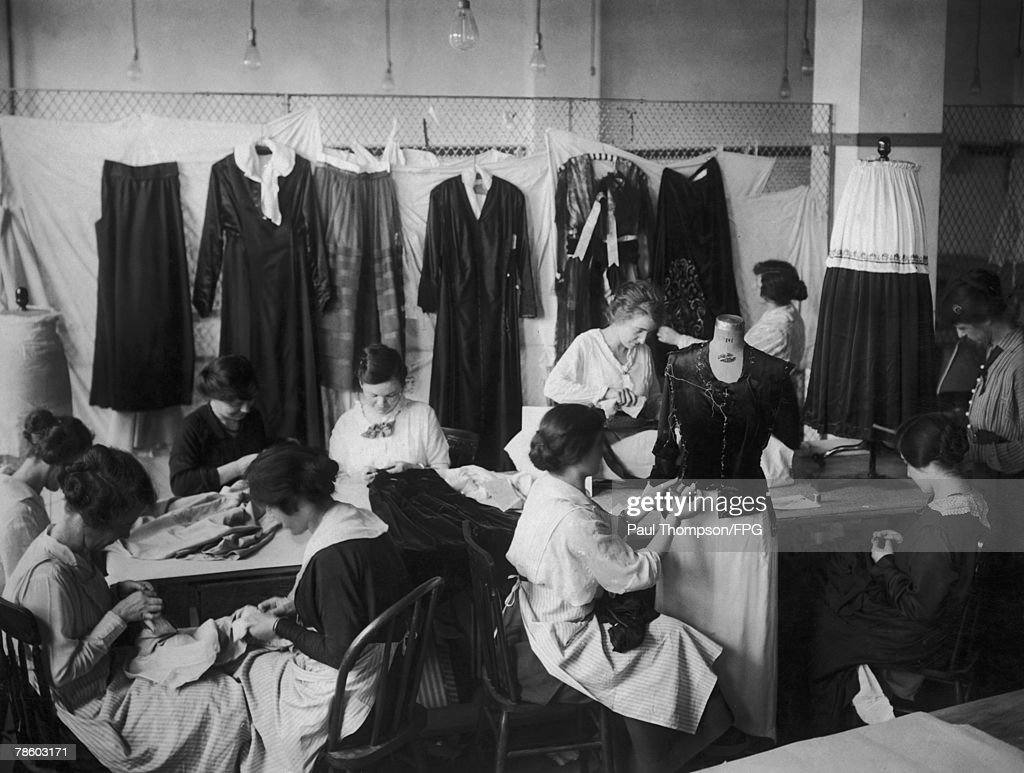 Clothing Industry : News Photo