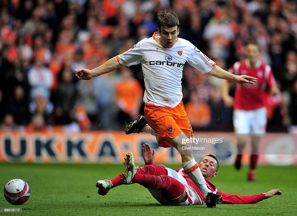 Nottingham Forest v Blackpool - Championship Playoff Semi Final 2nd Leg : News Photo